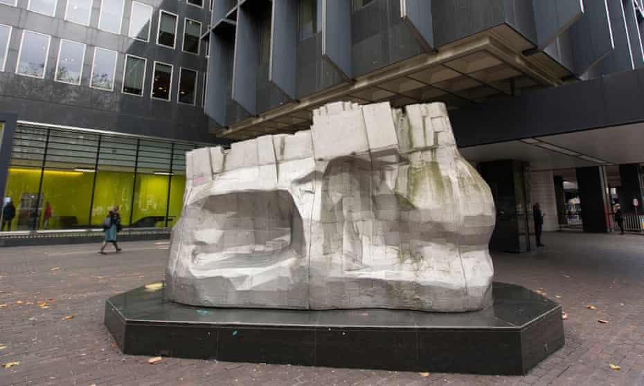 Paolozzi sculpture at Euston station