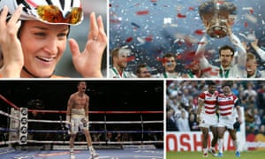 Sporting moments of 2015