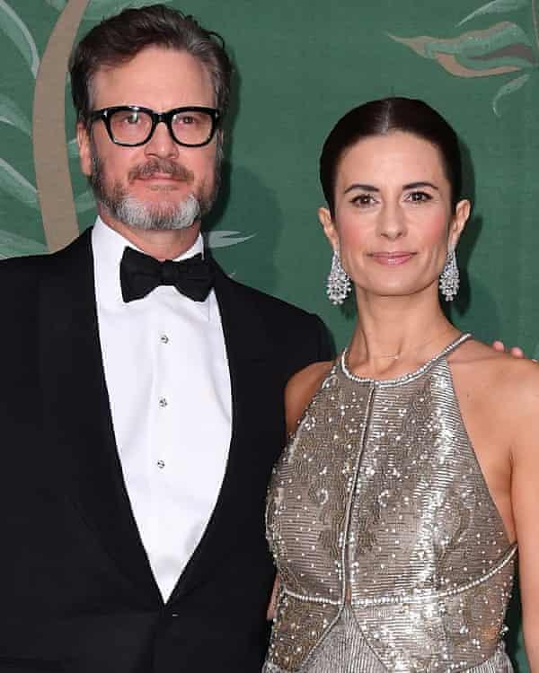 Colin Firth and Livia Giuggioli Firth