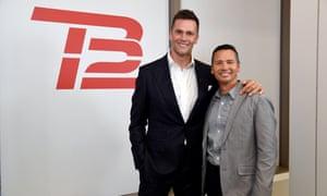 Tom Brady and Alex Guerrero