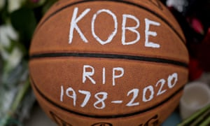 BASKET-NBA-BRYANT-DEATH<br>Basketballs are seen outside Bryant Gymnasium at Lower Merion High School, where basketball legend Kobe Bryant formally attended school, after his passing, on January 27, 2020 in Philadelphia, Pennsylvania. - Nine people were killed in the helicopter crash which claimed the life of NBA star Kobe Bryant and his 13 year old daughter, Los Angeles officials confirmed on Sunday. Los Angeles County Sheriff Alex Villanueva said eight passengers and the pilot of the aircraft died in the accident. The helicopter crashed in foggy weather in the Los Angeles suburb of Calabasas. Authorities said firefighters received a call shortly at 9:47 am about the crash, which caused a brush fire on a hillside. (Photo by Johannes EISELE / AFP) (Photo by JOHANNES EISELE/AFP via Getty Images)