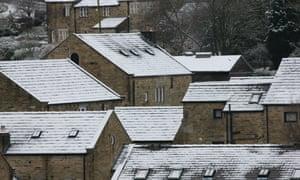 屋顶上的雪