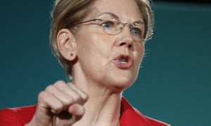 Senator Elizabeth Warren: 'He's done everything he can to stir up racial conflict and hatred in this country.'