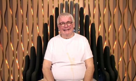 Christopher Biggins in Celebrity Big Brother's diary room