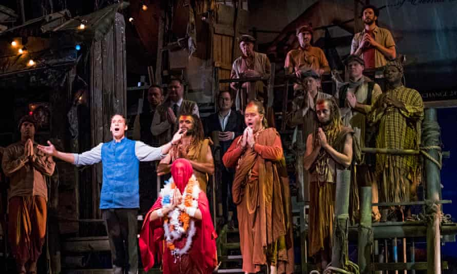The Pearl Fishers at the Coliseum in London.