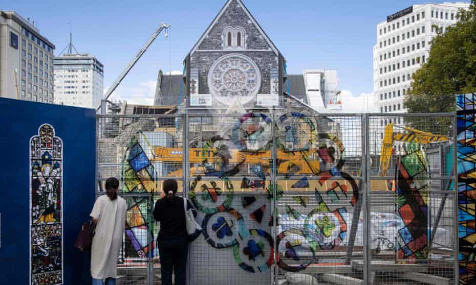 Christchurch Cathedral under repair nearly 10 years after a deadly 6.3 magnitude earthquake rocked the city