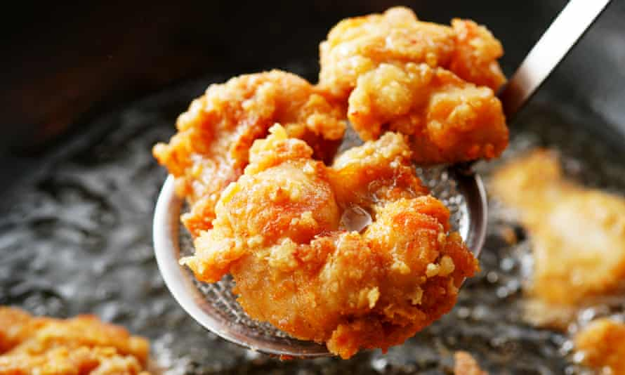 Karaage Japanese fried chicken. 'I became hooked after my Japanese sister-in-law made it for me.'