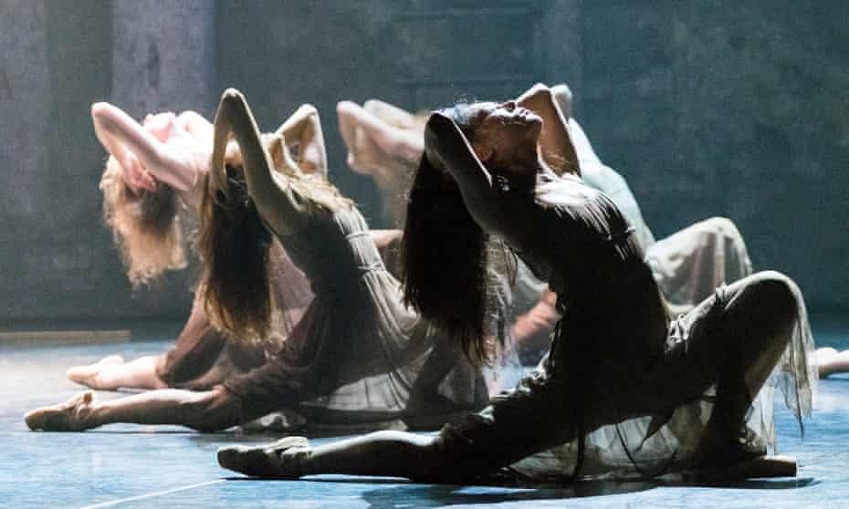 A scene from Akram Khan's Giselle.