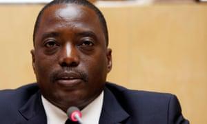 President Joseph Kabila of the Democratic Republic of Congo