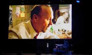 Modern jazz, drummer and composer Antonio Sanchez performs his fervent score live alongside the Oscar-winning movie Birdman at Mofo festival on 14 January, 2016.