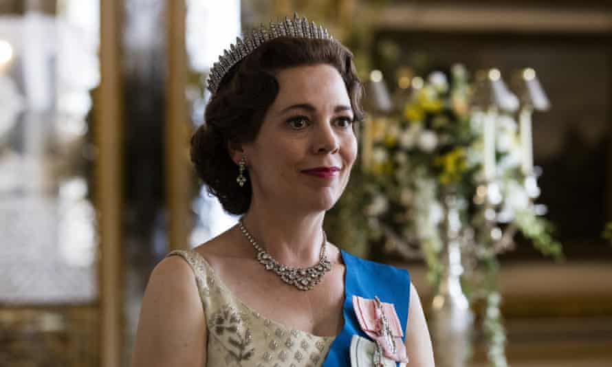 Olivia Colman in The Crown.