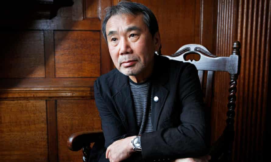 Japanese writer Haruki MurakamiJapanese writer Haruki Murakami seen before speaking at the Edinburgh International Book Festival. Murakami has just had his latest novel published in English: Colorless Tsukuru Tazaki and His Years of Pilgrimage. Photo by Murdo MacLeod For ARTS