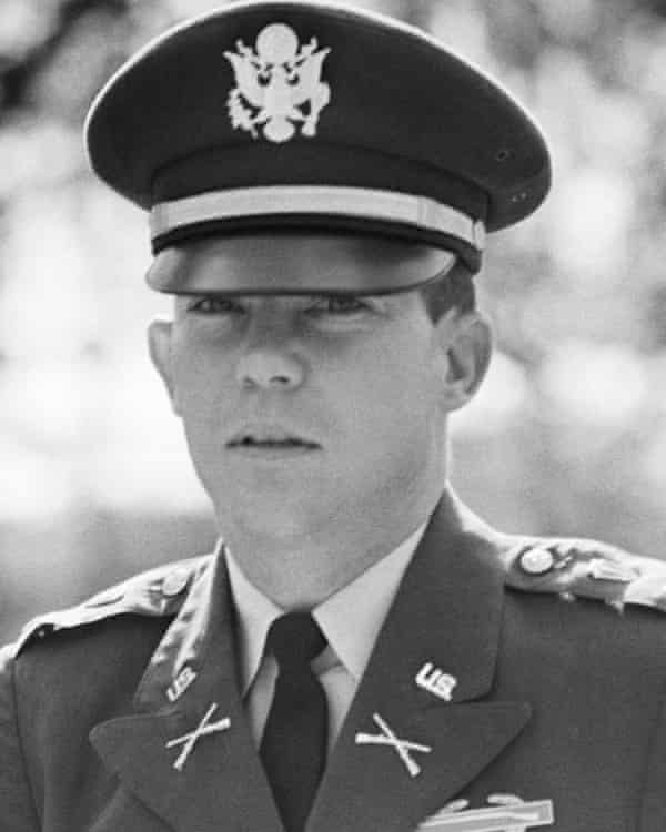 William Calley Jr at a pre-trial hearing prior to his court martial for his involvement in the My Lai massacre.