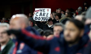 Arsenal protesters