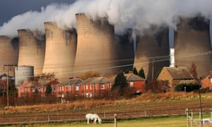 Eggborough power station in North Yorkshire