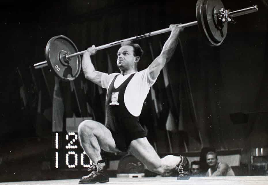 'I went to the weights myself and started lifting them' … Ben Helfgott.
