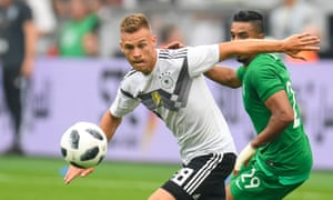Joshua Kimmich is one of a strong new group of German players, but some question how long the country's conveyor belt can keep producing such talent.