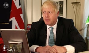 Boris Johnson didn't have to face any comeback during his first 'people's prime minister's questions'.