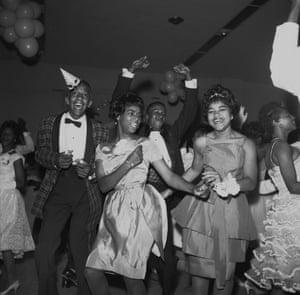 A Prom at Manassas Hight School, 1961. The Manassas High School prom in 1961
