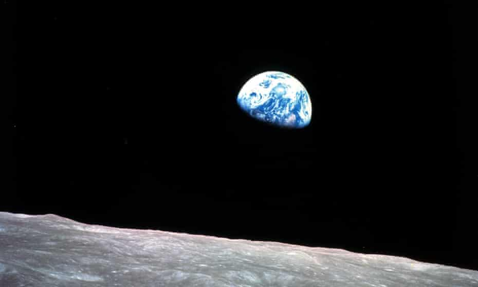 The photo was taken on Christmas Eve in 1968 and remains one of the most enduring space images of all time.