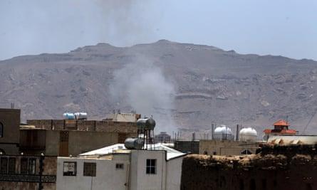 Sana'a residential area, Yemen