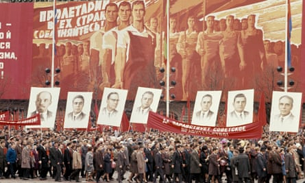 May Day parade in Moscow, 1970, the year in which Gordievsky was singled out by MI6.