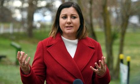 Labor candidate for Eden-Monaro, Kristy McBain.