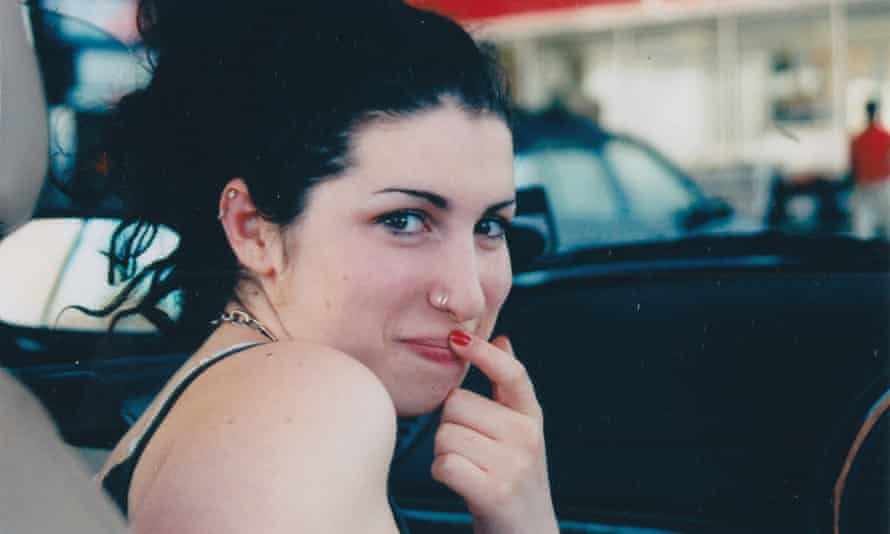 A young Amy Winehouse in Asif Kapadia's Amy.