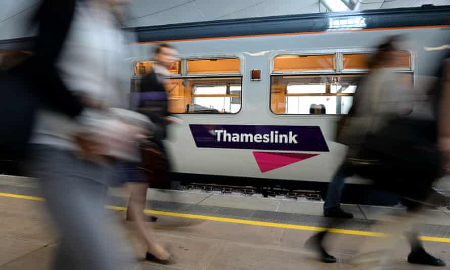 Govia Thameslink (above) and Northern services were disrupted this year after the botched introduction of a new timetable in May.