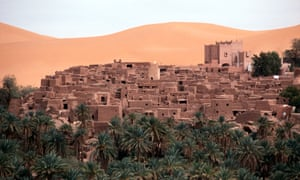 The oasis township of Taghit in Algeria.