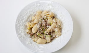 'Demands to be chased around the bowl': lamb rigatoni.