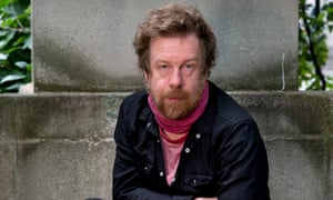 """""""There are certain conversations, where it can take years to figure out what was actually meant': Kevin Barry photographed in London this month"""