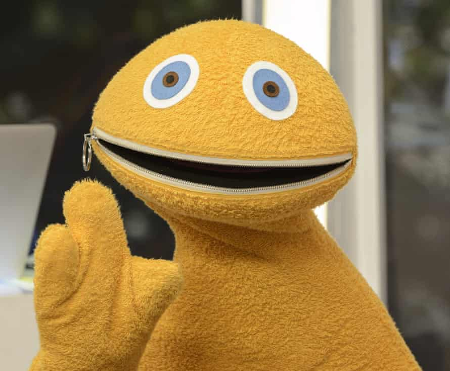 Zippy, big-mouthed star of Rainbow.