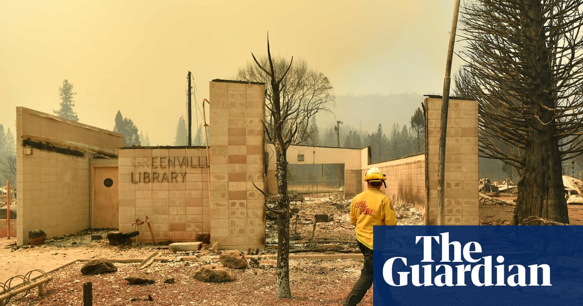 'My heart is crushed': US's largest wildfire levels beloved California town