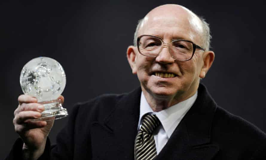 Nobby Stiles, pictured in 2008, died in October of this year at the age of 78 having had dementia for many years.