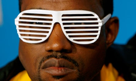 Kanye West at the MTV VMAs in 2007.