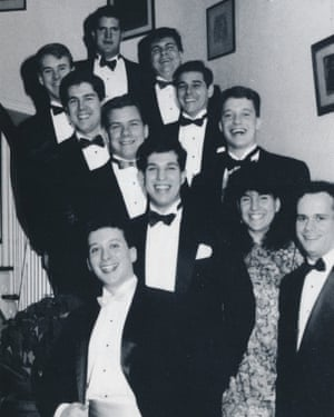 A 1990 Harvard yearbook shows Gorsuch, second row from the top on the left. One professor recalled him as 'a very, very bright judge' and 'personable'. Photograph: Courtesy of Harvard Law School