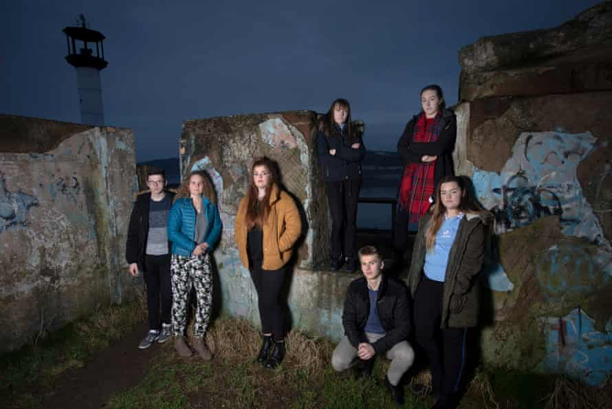 Members of We Will, an advocacy group established by young people to campaign for better youth mental health services in Cumbria. Pictured are Reece Pocklington, Jasmine Dean, Chloe Wilson, Lucy Steel, Billy Robinson, Hanah Pantling and Rebecca Woods