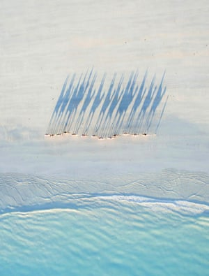 If 2016 was the year of the drone, this shot by Todd Kennedy, taken at Cable Beach on his honeymoon, is a cracking example. It was named one of the best drone photos of the year by national Geographic.