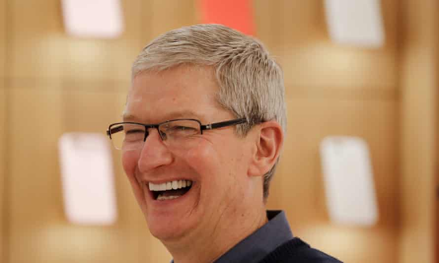 Apple CEO Tim Cook has dismissed suggestions that the company was avoiding taxes.