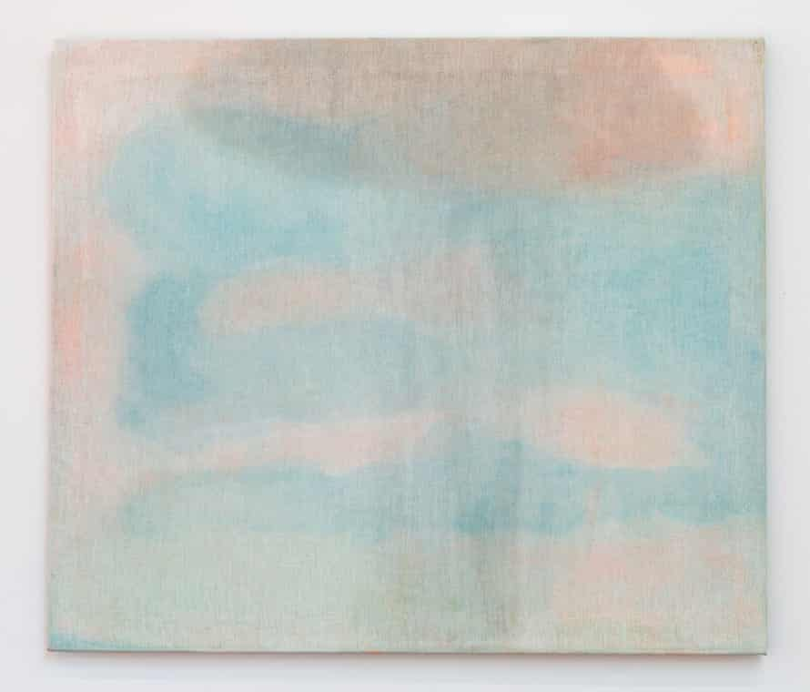 Cathy Wilkes, Untitled, 2020 Egg tempera on linen 24 × 28 × 2/5 in 61 × 71 × 1 cm