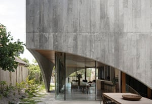 National award for residential architecture New houses category: Hawthorn House, Hawthorn, Victoria. By Edition Office.