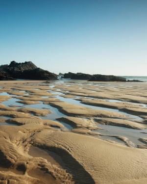 Plage de Donnant, Belle-Ile-en-Mer, Morbihan, Brittany, France