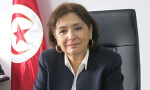 Sihem Bensedrine, president of Tunisia's Truth and Dignity commission.