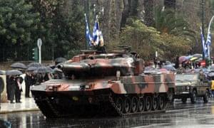 Greek tank