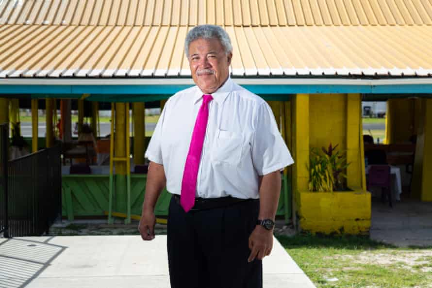 Enele Sopoaga, prime minister of Tuvalu
