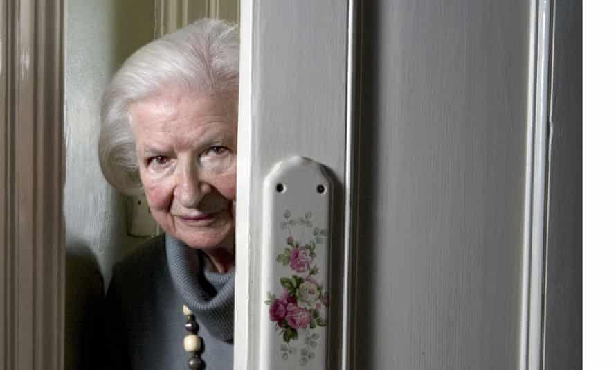 'I am not really an aficionado of the school of gun, guts, and gore' ... PD James, at her London home in 2011.