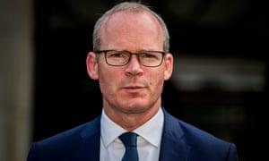 The tánaiste, Simon Coveney, said the UK should uphold its commitments.