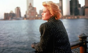 Melanie Griffith is Staten Island secretary Tess McGill in Working Girl.