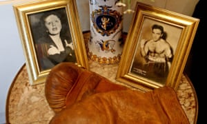 Memorabilia at the Edith Piaf museum.